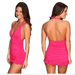 WT Juicy Couture Swim Dress Tank L
